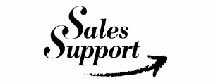 SALES SUPPORT 299 X 118